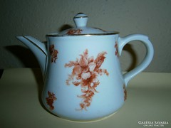 Antik Schlaggenwald porcelán kávés kancsó