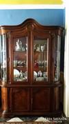 Barokk vitrin,tálaló üveges szekrény