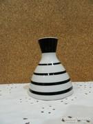 Drasche art deco csíkos váza.