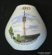 Olimpiai emlékváza - München 1968 - Bavaria porcelán