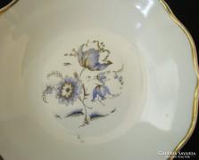Zsolnay porcelán virágos tálka
