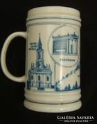 Zemplén-Hegyköz emlék - Hollóházi porcelánkorsó
