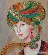 MIRA-B.Tóth Irisz festmény