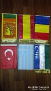 Diplomáciai asztali zászlók