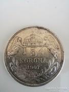 K.B 1907  5 Korona