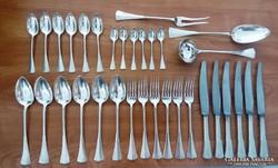 Ezüst evőeszköz készlet 33 db-os