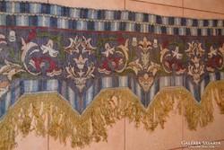 Szecessziós kelim drapéria, falvédő  ( DBZ 0083 )