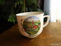 Antik Winterling Schwarzenbach Bavaria kávés csésze Zöbern