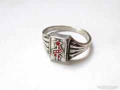 MKP ezüst pecsétgyűrű!