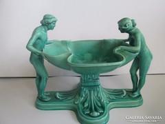Antik Zsolnay 2 alakos porcelán  A termék eredetiségére örök garanciát vállalok.