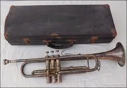 Ezüstözött antik Lignatore hangszer