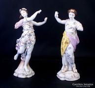 Régi Volkstedt figurák