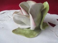Hol3  Aquincum porcelán rózsa 5 cm