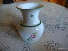 Herendi váza 10x15 cm hibátlan