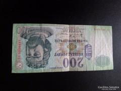 2007 -es 200.-ft -is papirpénz