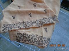 Keleti kézműves ezüst szállal hímzett nadrág