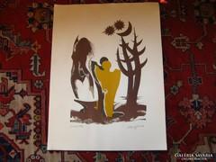 Szatyor Győző : Kalevala illusztráció