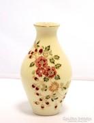 Zsolnay virágos váza (ZAL-BI28551)