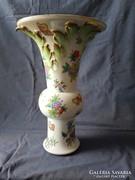 Herendi porcelán Viktória-mintás váza, nagyméretű
