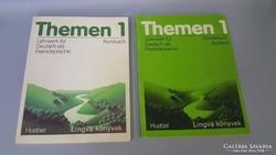 Német tankönyv és munka fűzet