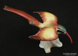Kolibri - aquincumi porcelán madár