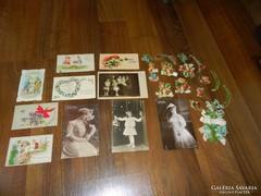 Antik képes levelezőlapok és egyebek...