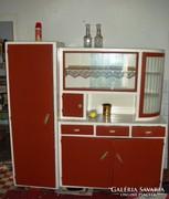 Retro konyha kredenc + 2 db stokedli + asztal eladó