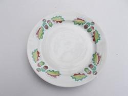 Zsolnay makkos tányér