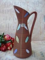 Jasba kerámia art deco karaffa,kancsó