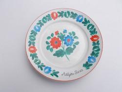 Mátyás-pince tányér zsolnay (AA-0624)