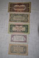 Régi pénzek ( 5 db )