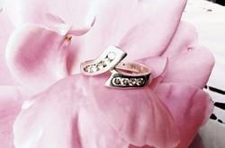 Ezüst gyűrű cirkonia köves