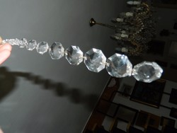 Kristály - kristálylámpa alkatrész - Sok kristályos lógó 2.