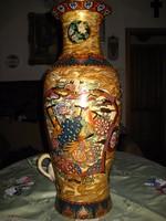 Keleti porcelán váza 62 cm !