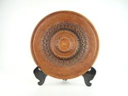 0N151 Hibátlan kerámia falitál 30 cm