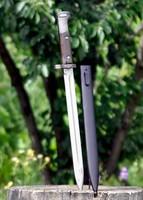 Hosszú Mauser bajonett