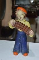Rahmer Mária kerámia zenész figura
