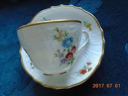 """""""Dresden""""antik egyedi virág és dombormintás csésze+alátét(4)"""