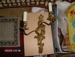 Szep bronz falikar
