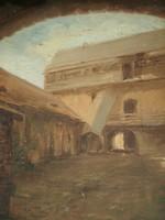 Tikáts Adolf (1872 - ) - Udvar