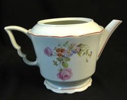 Zsolnay porcelán tea kiöntő - fedél nélkül