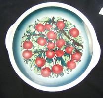 Régi kispesti gránit tál- cseresznyés