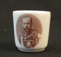 Rudolf trónörököst ábrázoló emlék pohárka