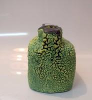 B124/103 Zöld dupla váza