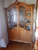 Warrings vitrines szekrény 115x195x42cm