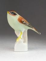 0N089 Régi Aquincum porcelán madár figura 7.5 cm