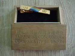 Japán nyakkendő csipesz díszdobozban