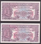 1948. Anglia, 1 Pound (2 db)