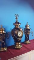 Antik kandalló óra