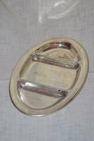Ezüstözött osztott kínáló  ( DBZ 0066 )